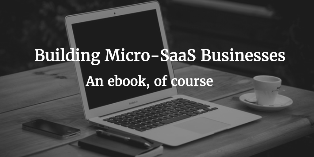 Building Micro-SaaS Businesses